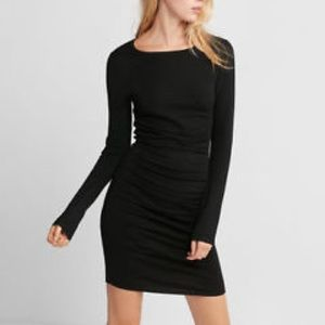 Express Black fitted dress